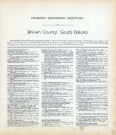 Directory 002, Brown County 1911